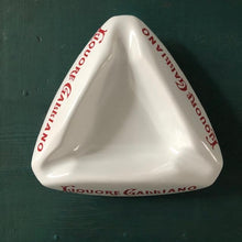Load image into Gallery viewer, Vintage Ceramic Italian Ashtray c1950 Liquore Galliano