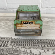 Load image into Gallery viewer, Vintage Marx Green Steel Pick Up Truck c1971