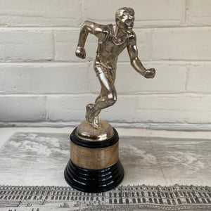 Vintage Runner Trophy c1949 Labor Day Ch'Town