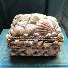 Load image into Gallery viewer, Vintage Shell Trinket /Jewel Box