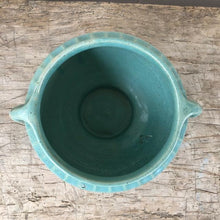Load image into Gallery viewer, Vintage Blue/Green USA Planter c1950s