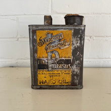 Load image into Gallery viewer, Antique Toronto Varnish Tin c1919 Sanderson Pearcy & Co Toronto
