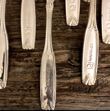 Load image into Gallery viewer, Vintage Silverplated CP Hotels Teaspoons Set/6