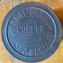 Load image into Gallery viewer, Antique Chase & Sanborn Coffee Tin Early 1900s