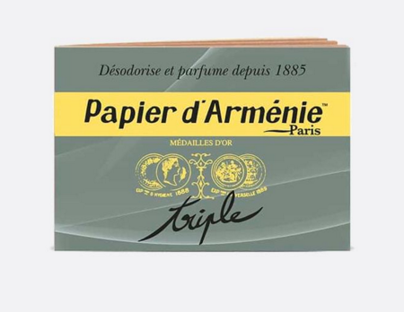 Armenian Incense Burning Papers Papier d'Armenie