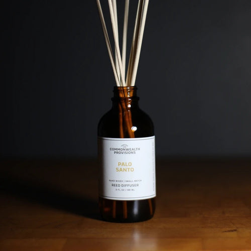 Commonwealth Provisions Reed Diffuser - Palo Santo