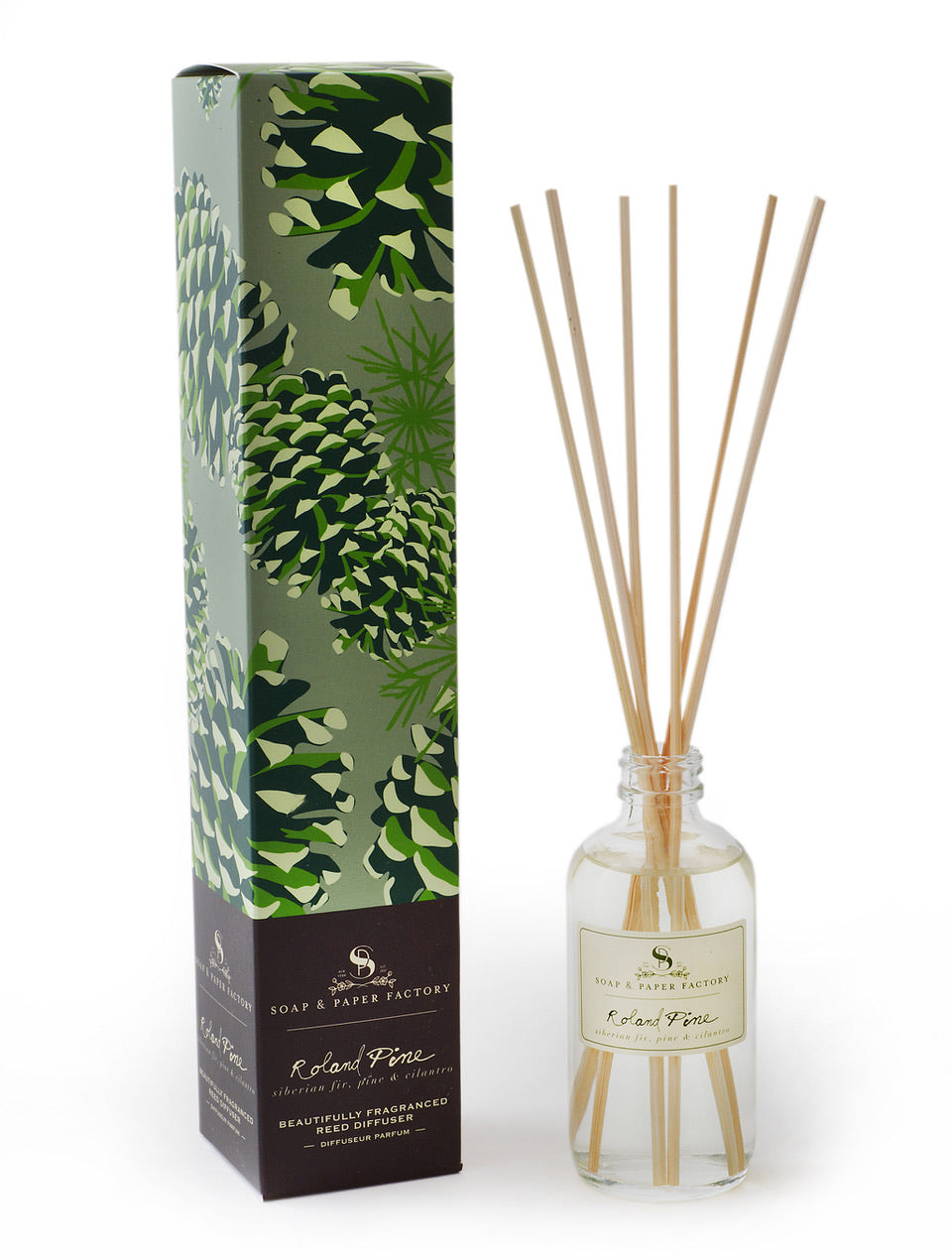 Roland Pine Diffuser by the Soap and Paper Company New York