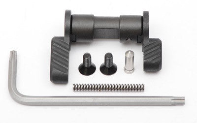 BAD-ASS AMBI SAFETY SELECTOR AR15 / AR10, Standard/Short Lever, Black