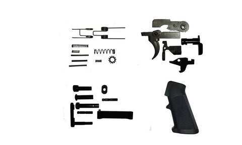 AR15 Lower Parts Kit w/ Stainless Trigger & Hammer