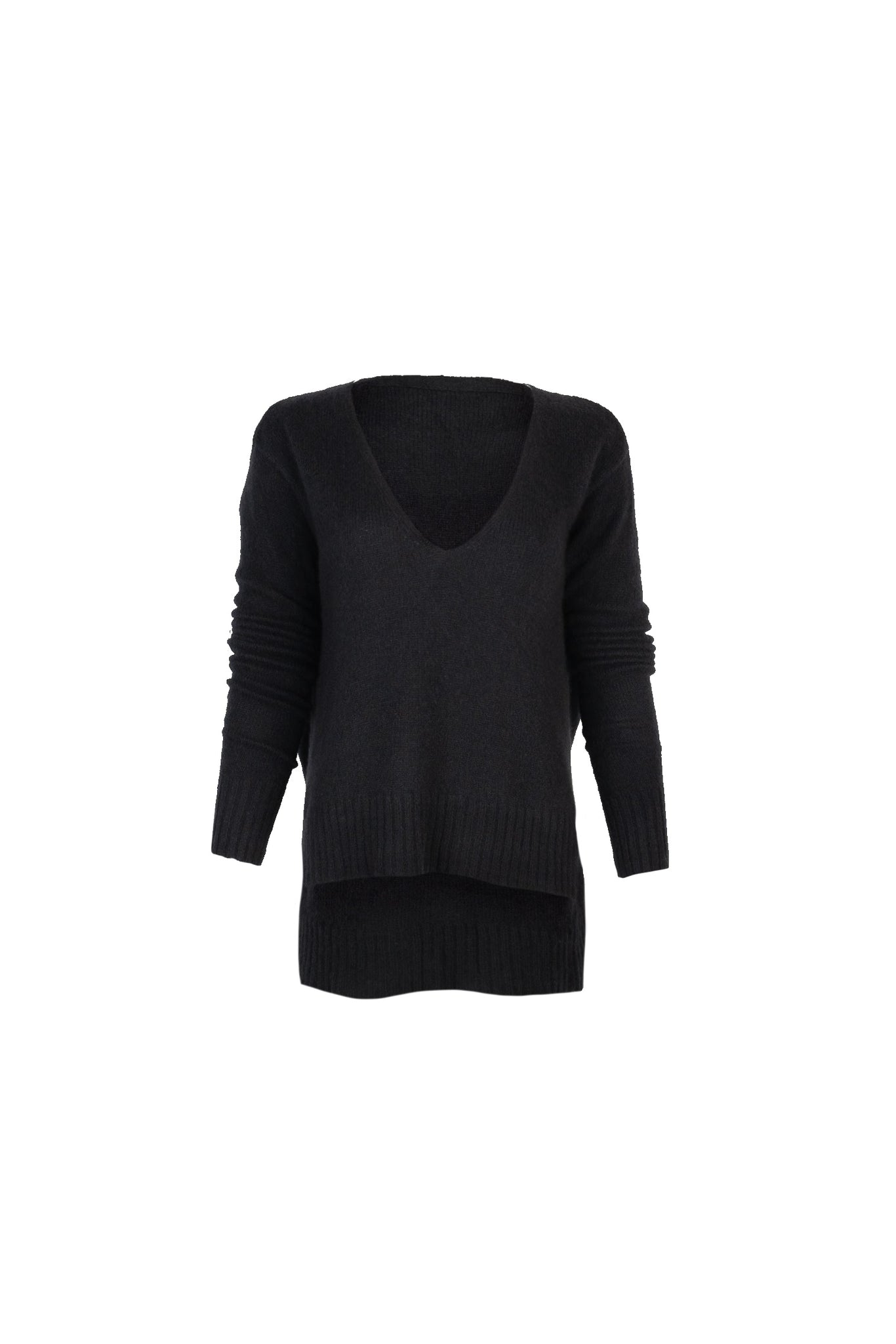 KES x Lars Nimbus V-Neck Sweater - Black