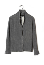 KES Felted Wool Raw Edge Skinny Jacket