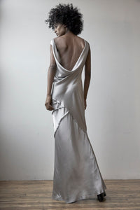 Elongated Recycled Wave Dress