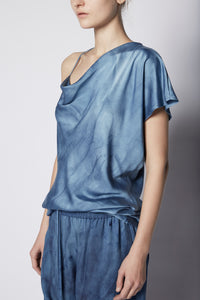 Asymmetric Cowl Neck Top