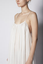 High-Low Halter Dress Crinkled