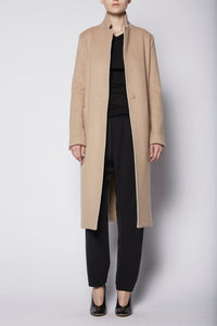 Raw Edge Minimal Coat