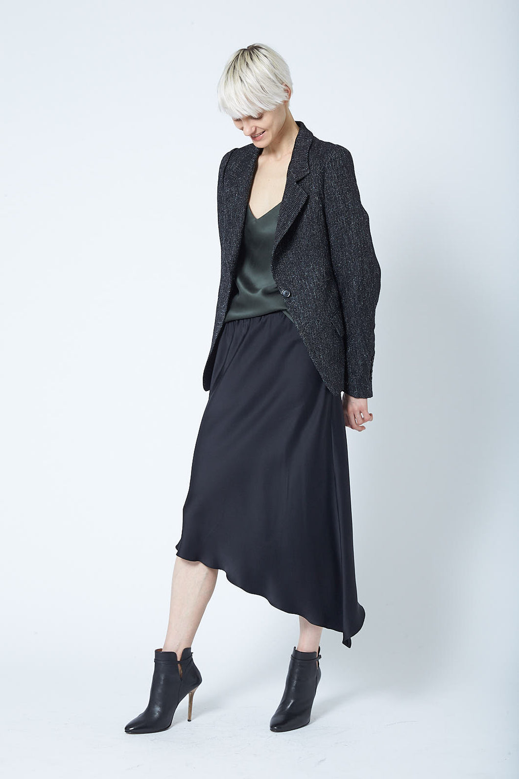 Asymmetric Bias Skirt