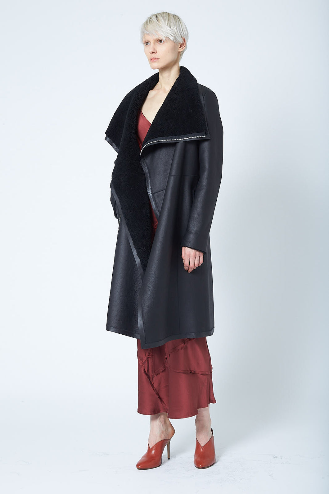Anne Vest Serenity Coat w/ Zipper