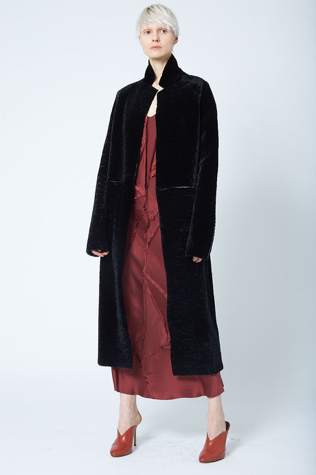 The Rouel Reversible Shearling Coat