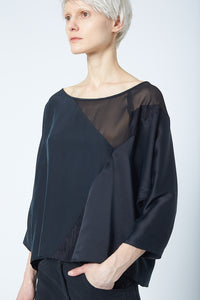 Recycled Long-Sleeve Top