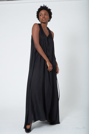 KES Modern Dance Dress FW19 - Black