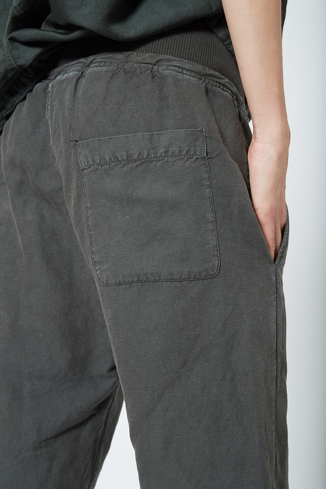 KES Drop Crotch Pants with Rib Twill - FW19