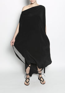 Circular Tie Dress LAME