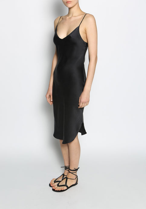 KES Scalloped Slip Dress