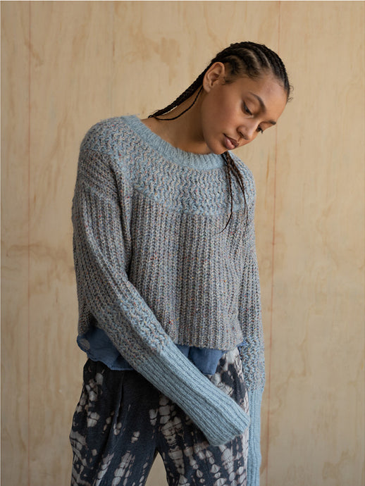 Raquel Allegra Crop Sweater