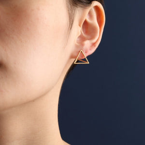 Shihara Triangle Earrings