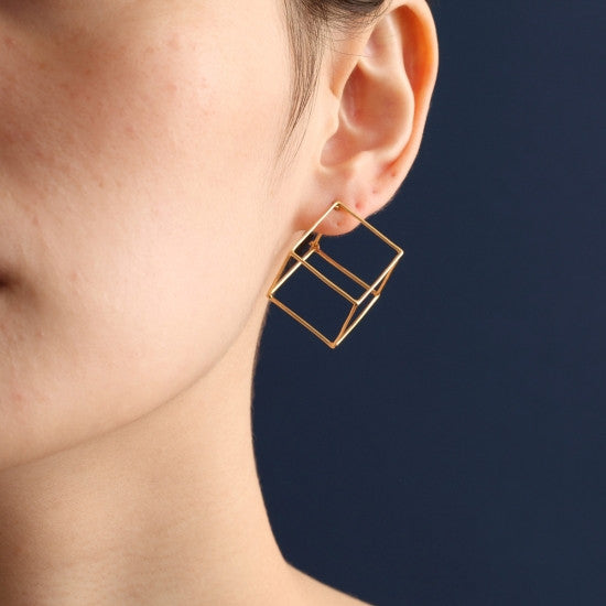 Shihara Square Earrings