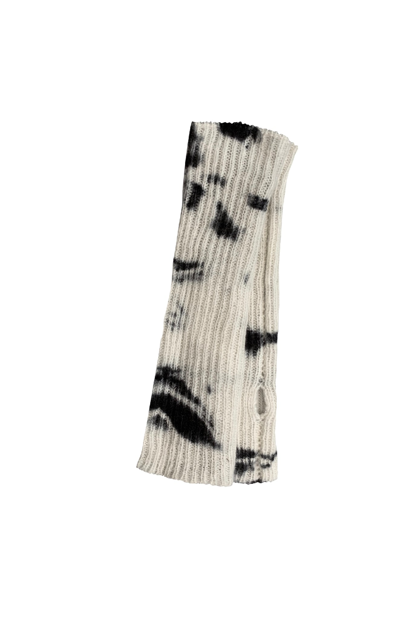 KES Lars Fingerless Long Glove - Black
