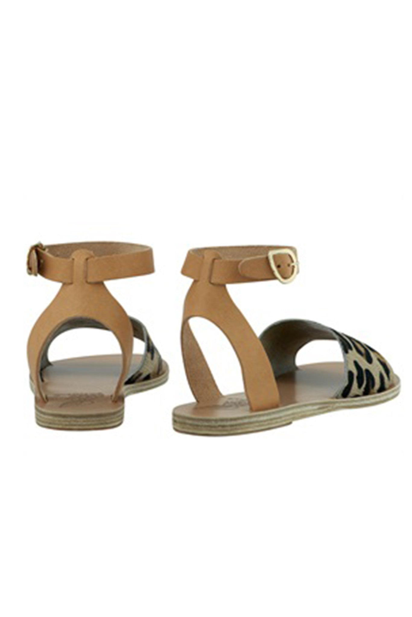 Ancient Greek Pony Fur Sandal