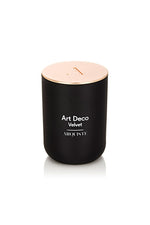 Arquiste Art Deco Velvet Candle