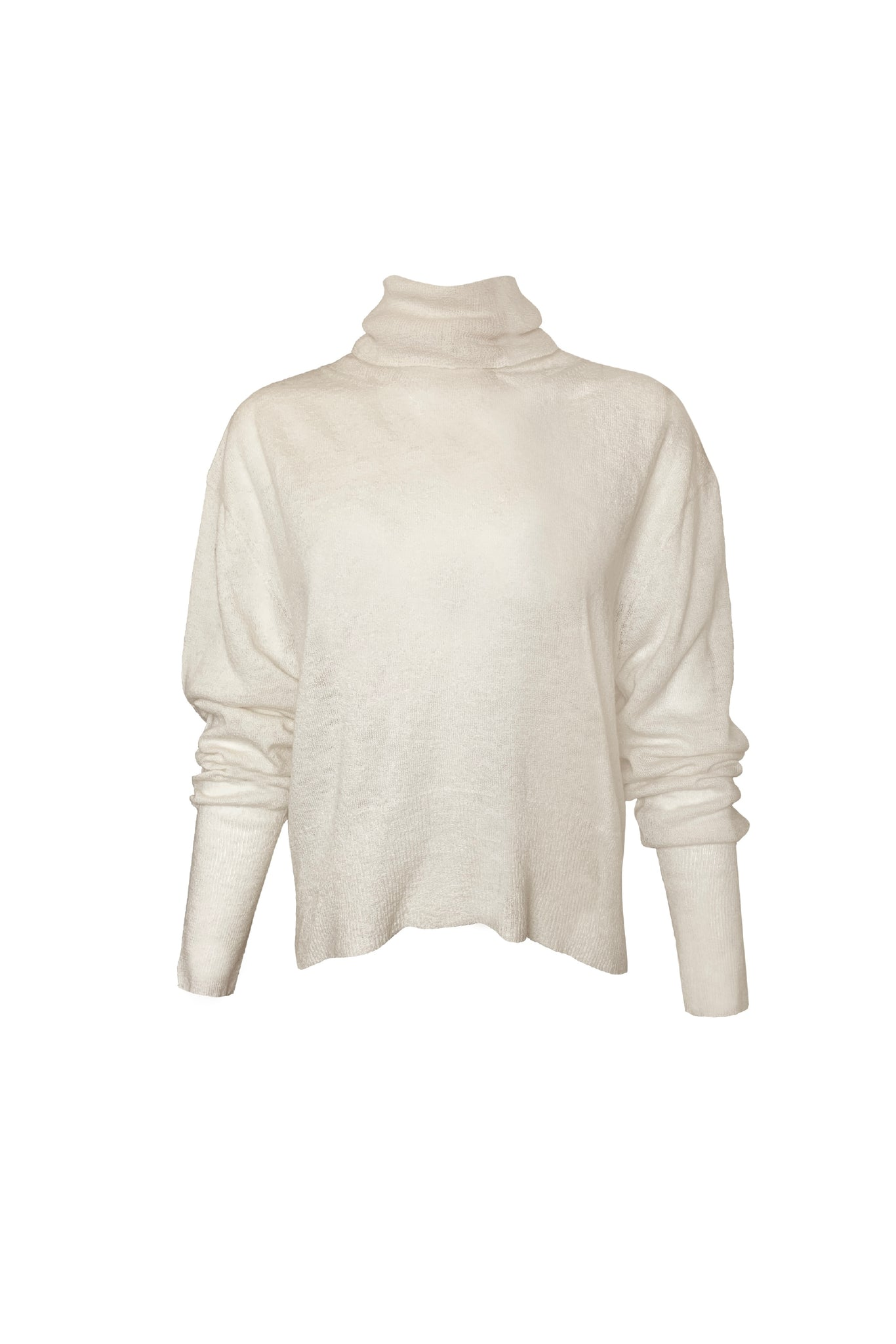 KES X Lars Turtleneck Pullover - Natural