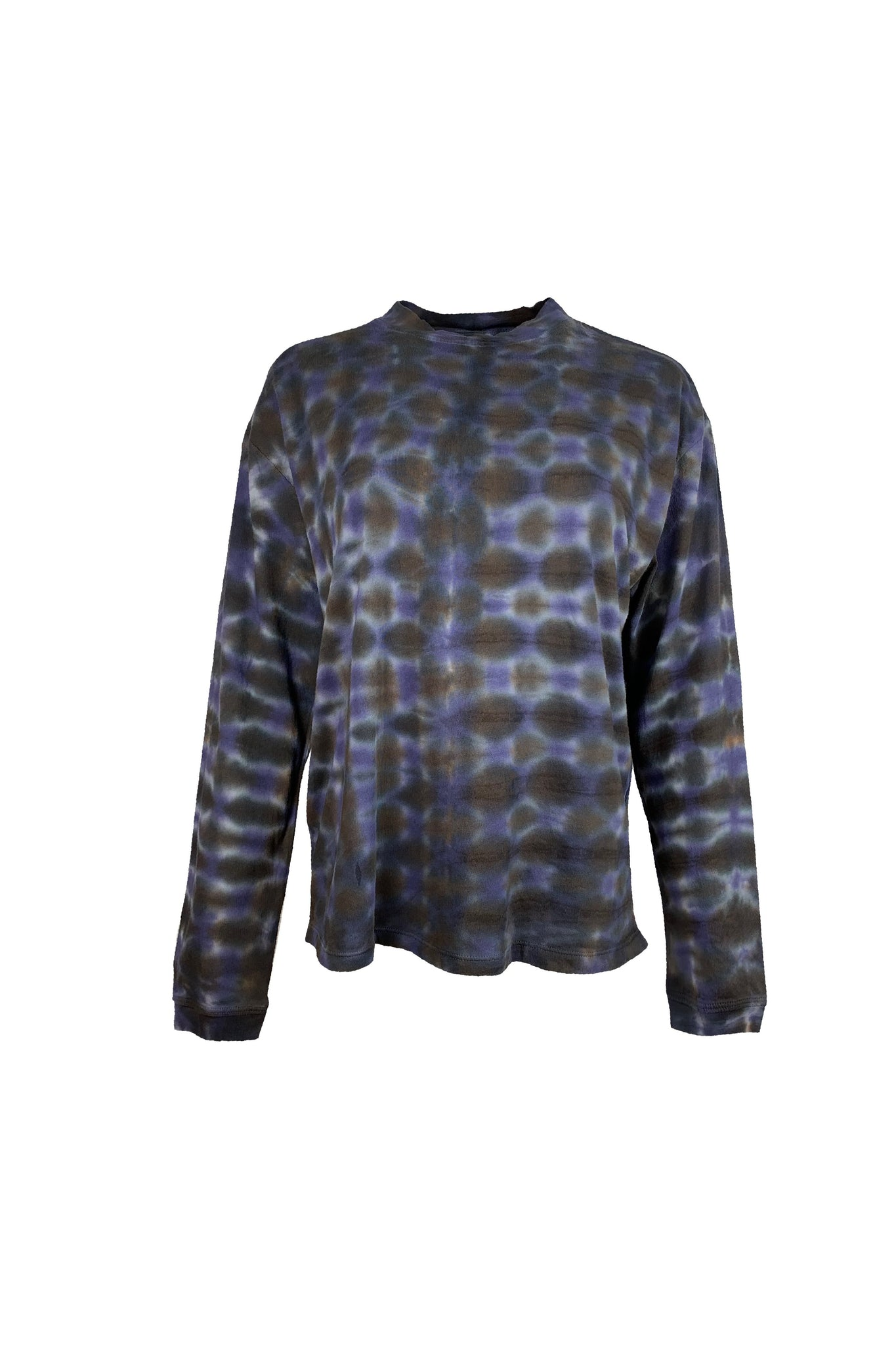 Raquel Allegra Long Sleeve Tee TD - Night Orchid