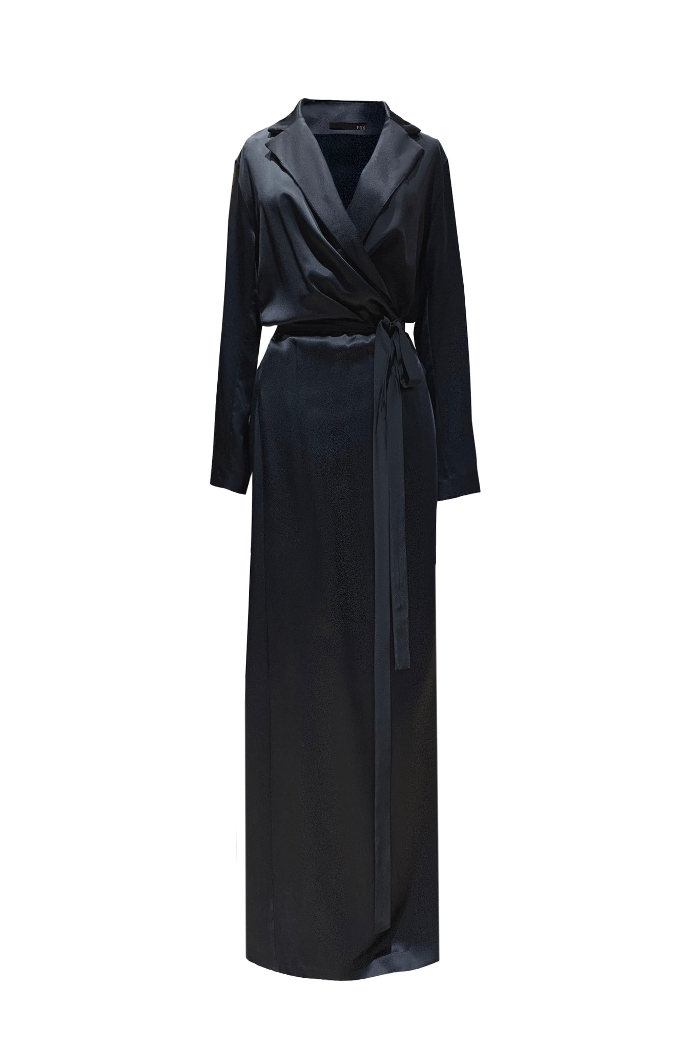 KES Full Length Underwood Dress- Black