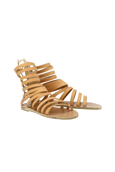 Ancient Greek Galatia Sliced Gladiator Sandals