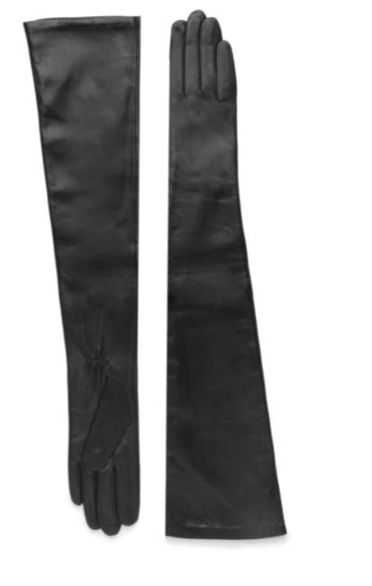 Carolina Amato Leather Dress Glove