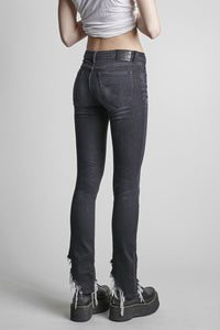 R13 Black Country Kate Skinny Jean