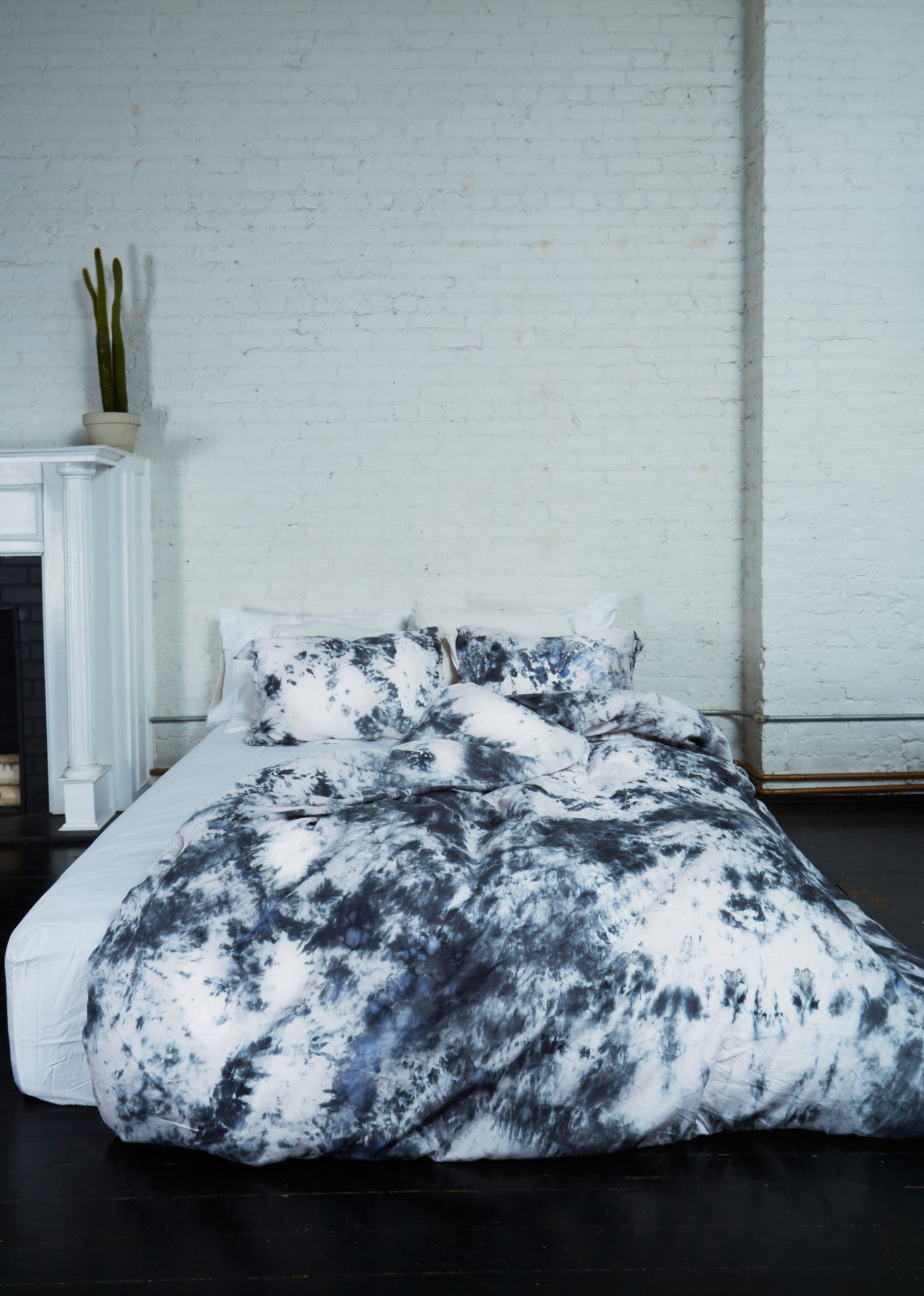 Saint Atma Stone Grey Mist Bedding