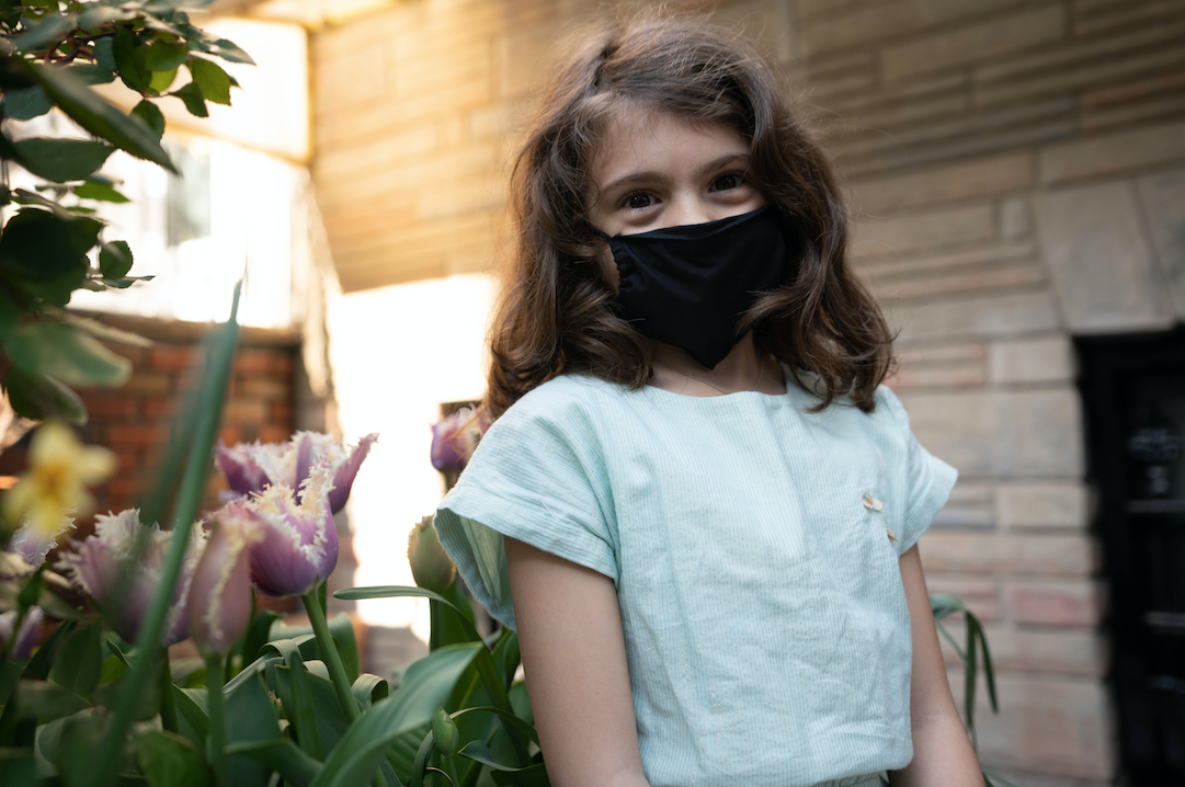 KES The Original Sustainable Washable Face Covering - Cotton - KIDS