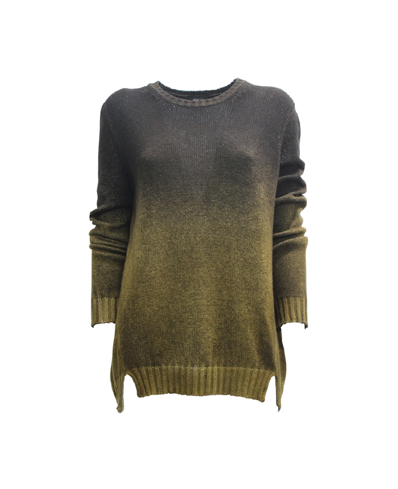 Avant Toi Ombré Knitted Pullover