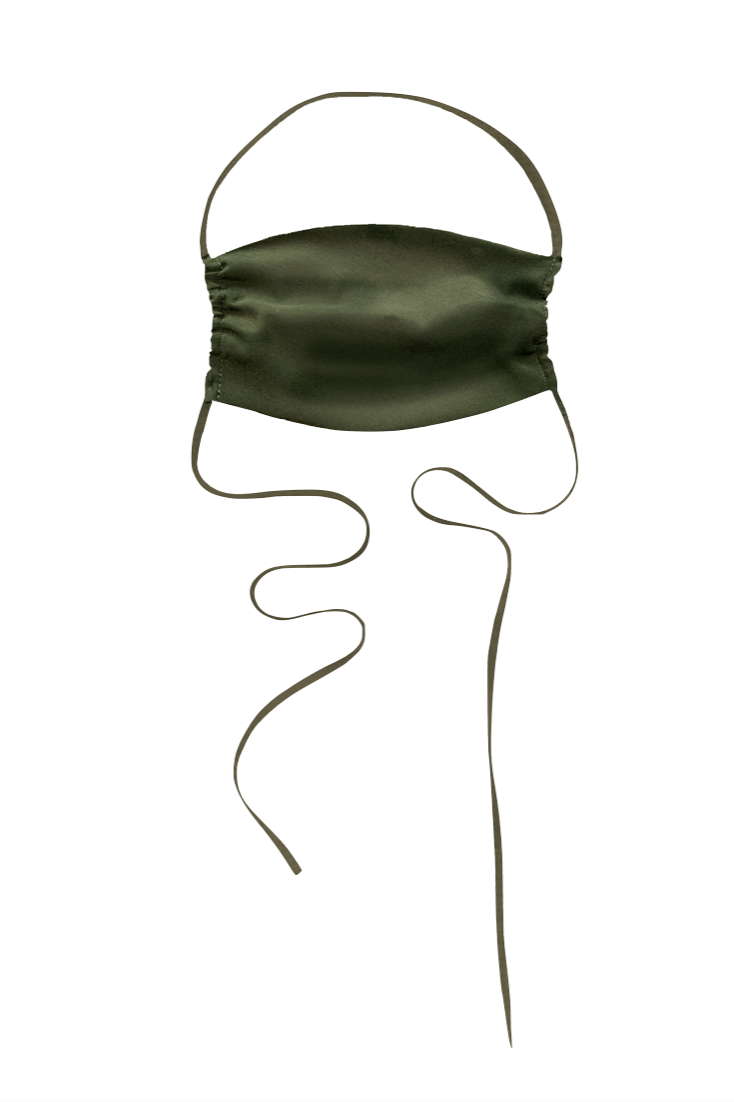 KES The Original Sustainable Washable Face Mask - Military Silk (Matte)