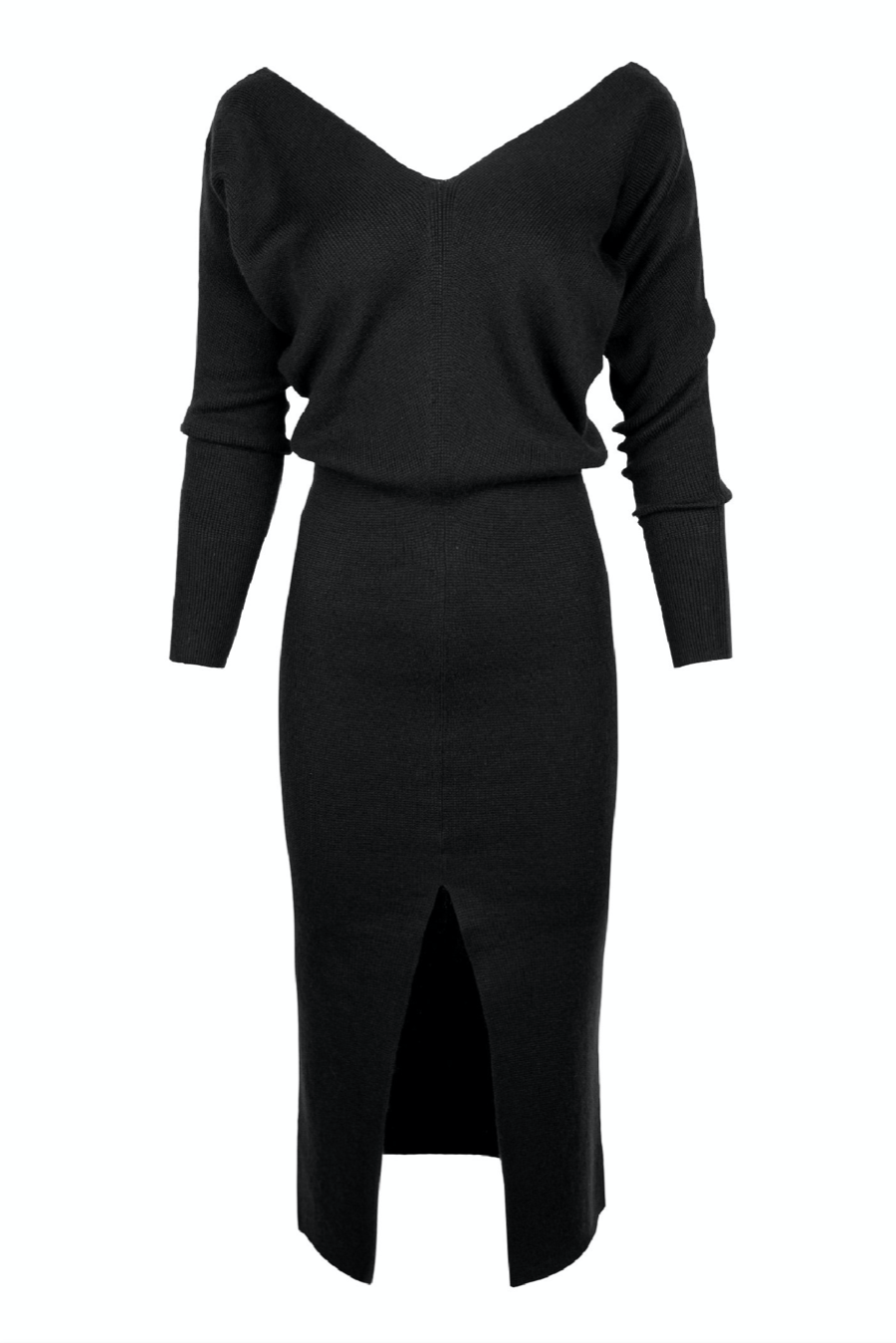 KES x Lars Aniz Long Sleeve Dress w/ Slit