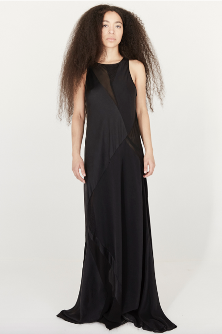 Elongated Recycled Dress