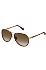 Kate Young Emanuel Aviator Sunglasses