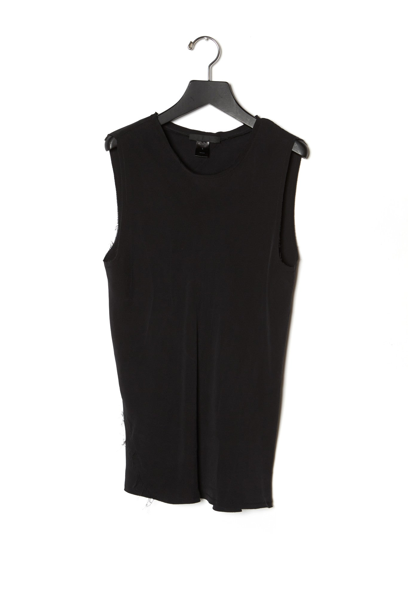 Twisted Sleeveless Top Georgette