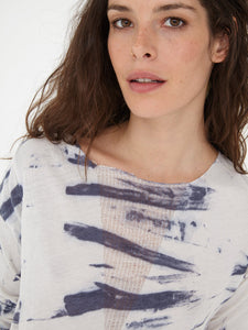 Raquel Allegra Shred V Long Sleeve TD