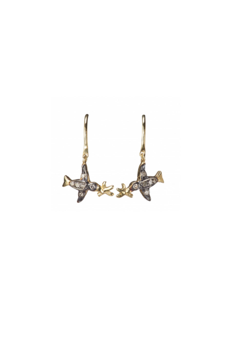5 Octobre Bird Earrings
