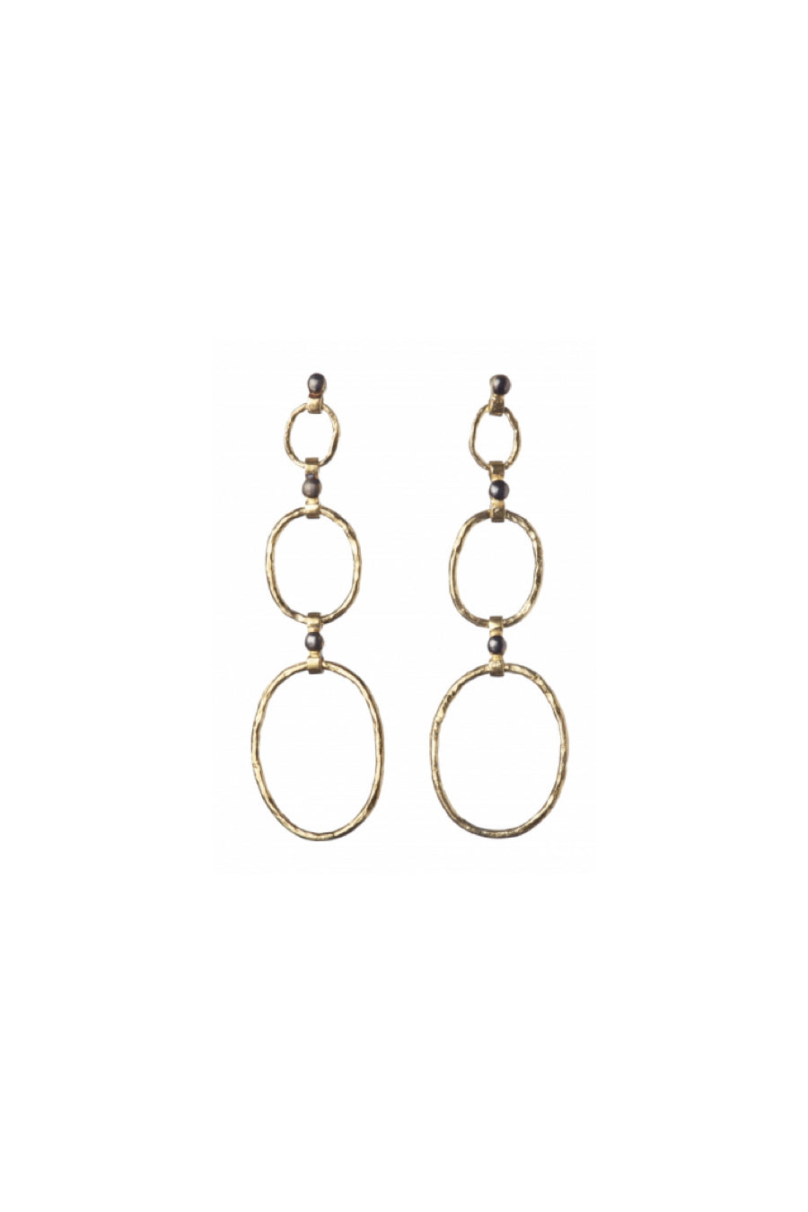 5 Octobre Bo Bea 3 Dot Earrings